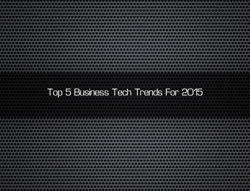 Top 5 Tech Trends For 2015 [HD Video]