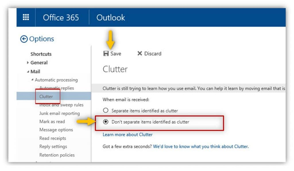 Disable-clutter-–-OWA-Mail-client-Office-365-customers-03