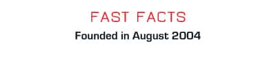 Facts: Founded in August 2004